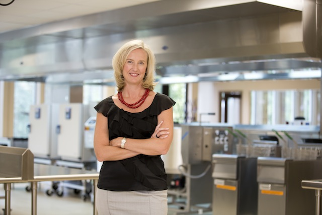 Wise CEO Jolie Weber at the company's new 6,000-s.f. innovation center in Atlanta.