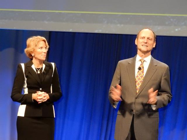 Cathy Burns and Bryan Silbermann