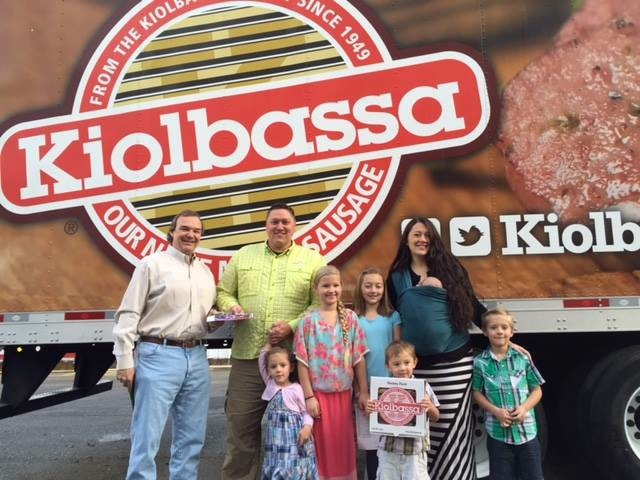 Kiolbassa winner and family