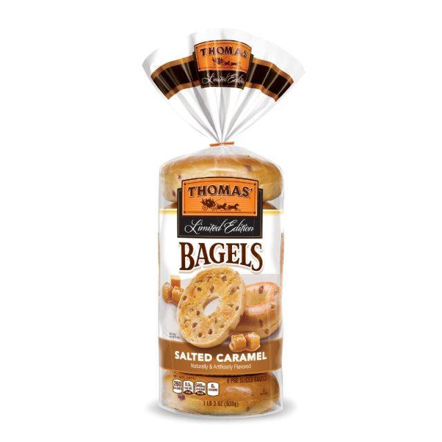 Thomas Salted Caramel Bagels