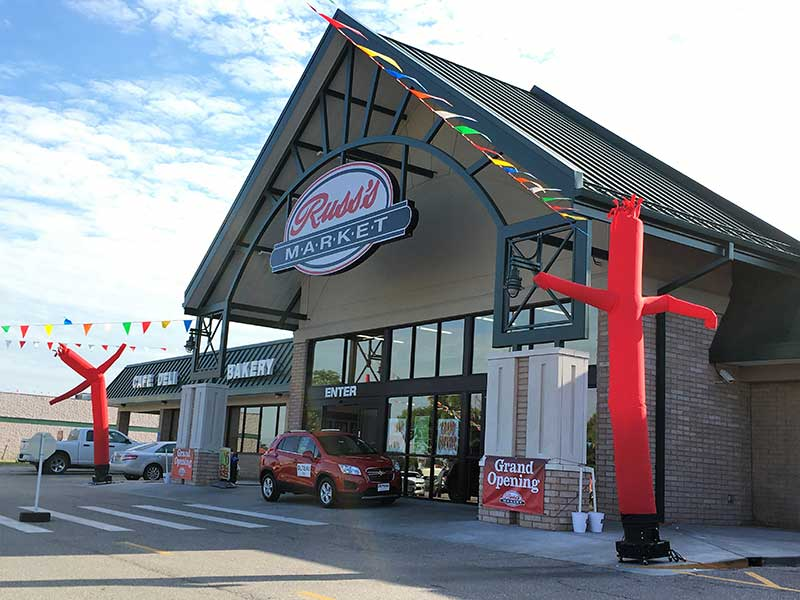 Remodeled Russ's Market Store In Lincoln, Nebraska