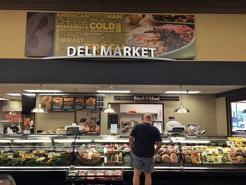 A Bashas' Deli Market in Mesa, Arizona.