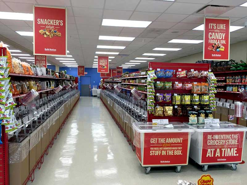 Here is a look inside Bulk Nation's new Clearwater, Florida, store.