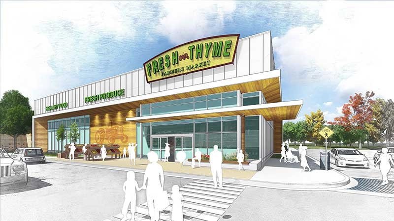 Fresh Thyme To Anchor New Milwaukee-Area Development