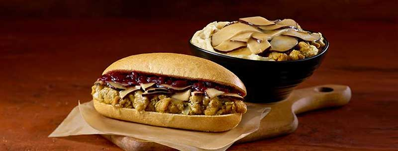 Wawa offers a variety of Hot Turkey items.
