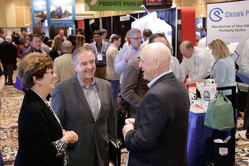 A scene from the 2017 NGA Show in February.