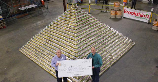 Brookshire Can Pyramid