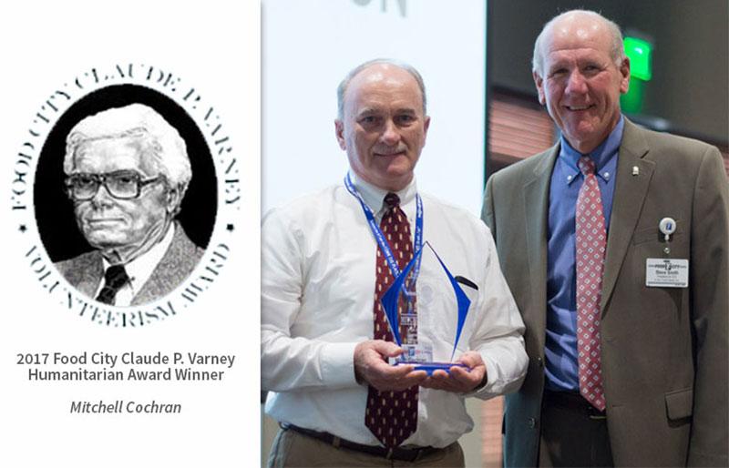 Varney award presentation