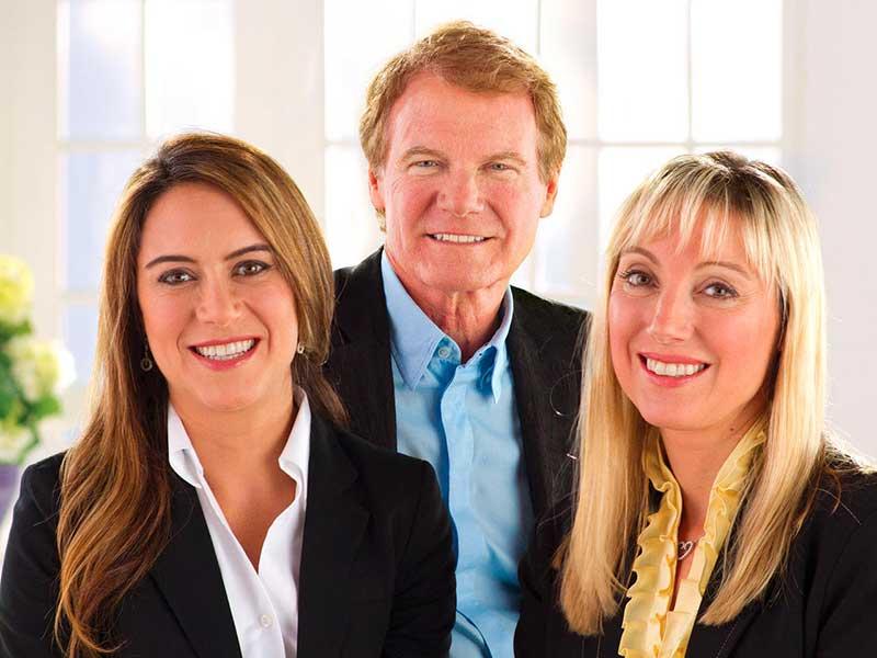 Nicole Wegman, SVP; Danny Wegman, chairman; and Colleen Wegman, president and CEO.