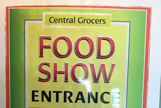 Central Grocers Food Show sign