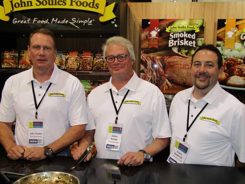 John Soules, Lance Youngs and Jones Roderik, John Soules Foods.