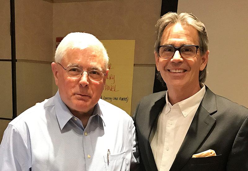 Mark Batenic and Harold Lloyd