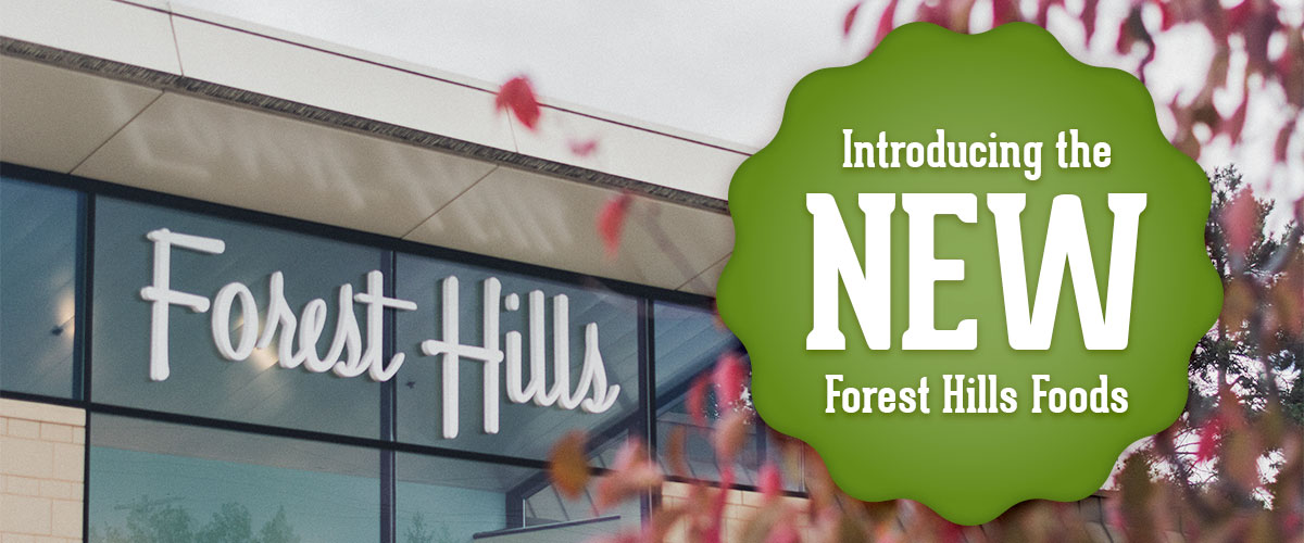 Forest Hills grand reopening banner