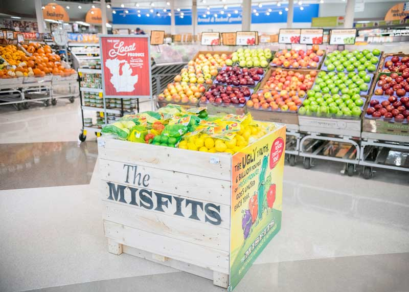 Misfits produce at Meijer