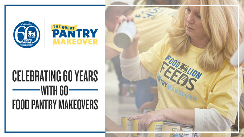 Food Lion Pantry Makeover