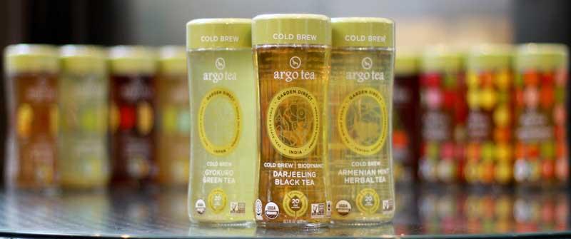 Argo Tea cold brew teas