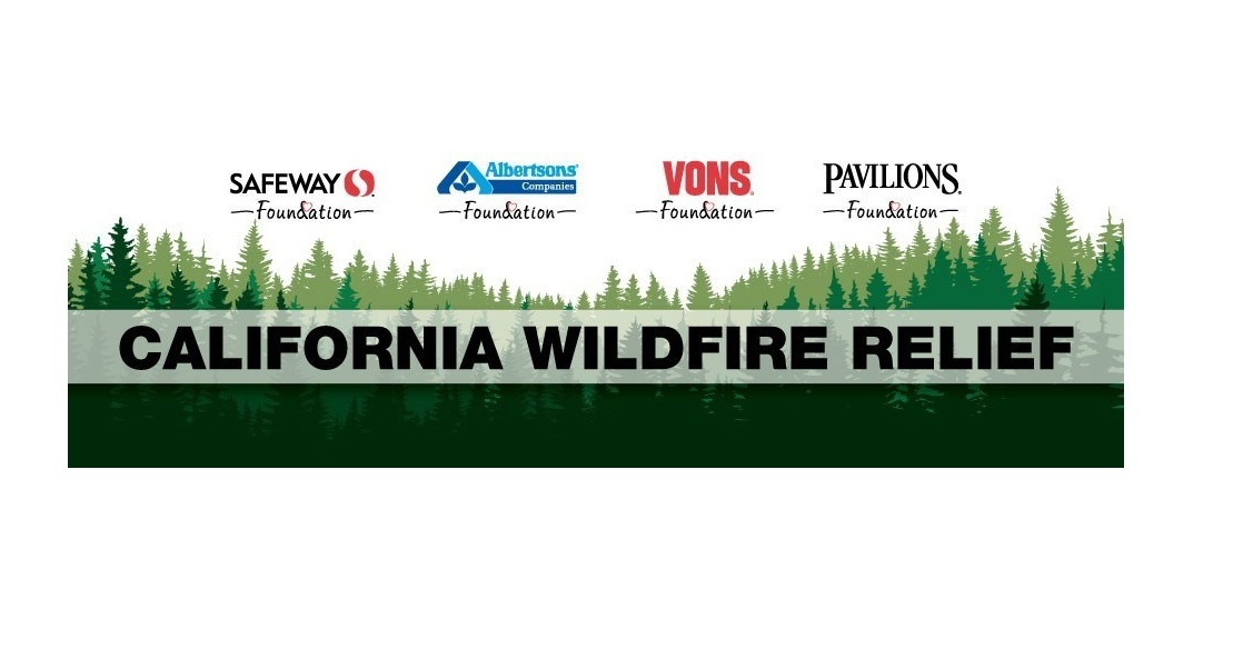 Albertsons wildfire relief campaign