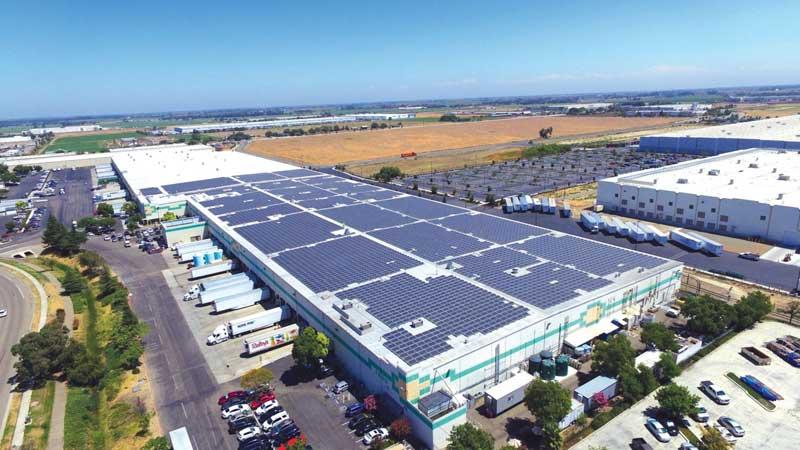 Taylor Farms' Tracy, California, solar array