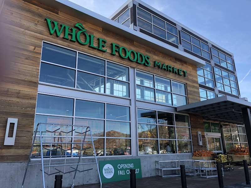 Whole Foods Park City Utah storefront