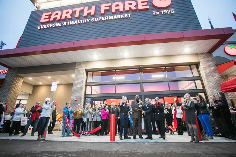 First Virginia Earth Fare ribbon-cutting
