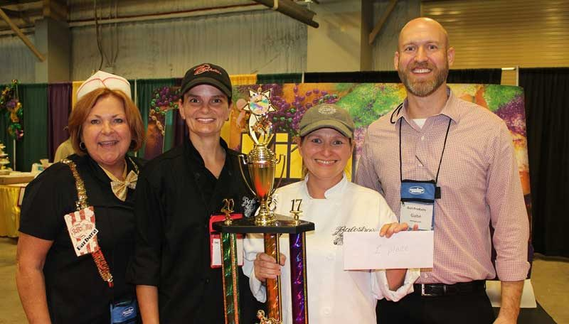 AG Food Show's King Cake competition.