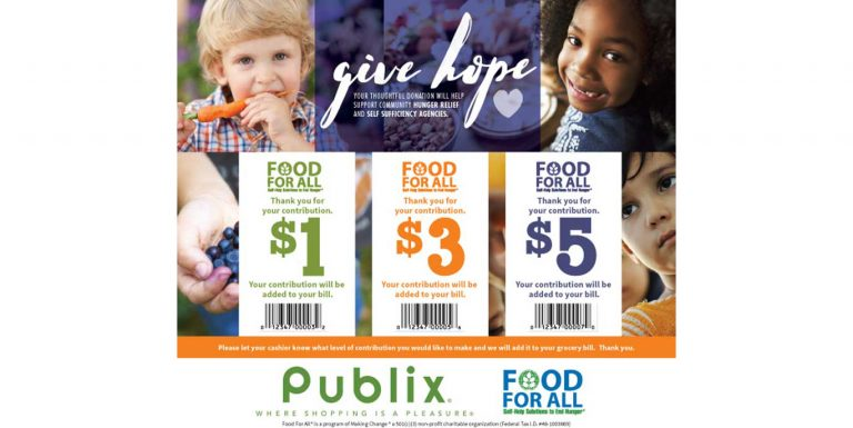 Publix Food for All campaign