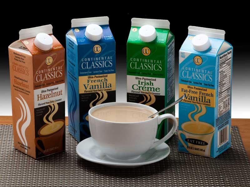 Cumberland Dairy creamers
