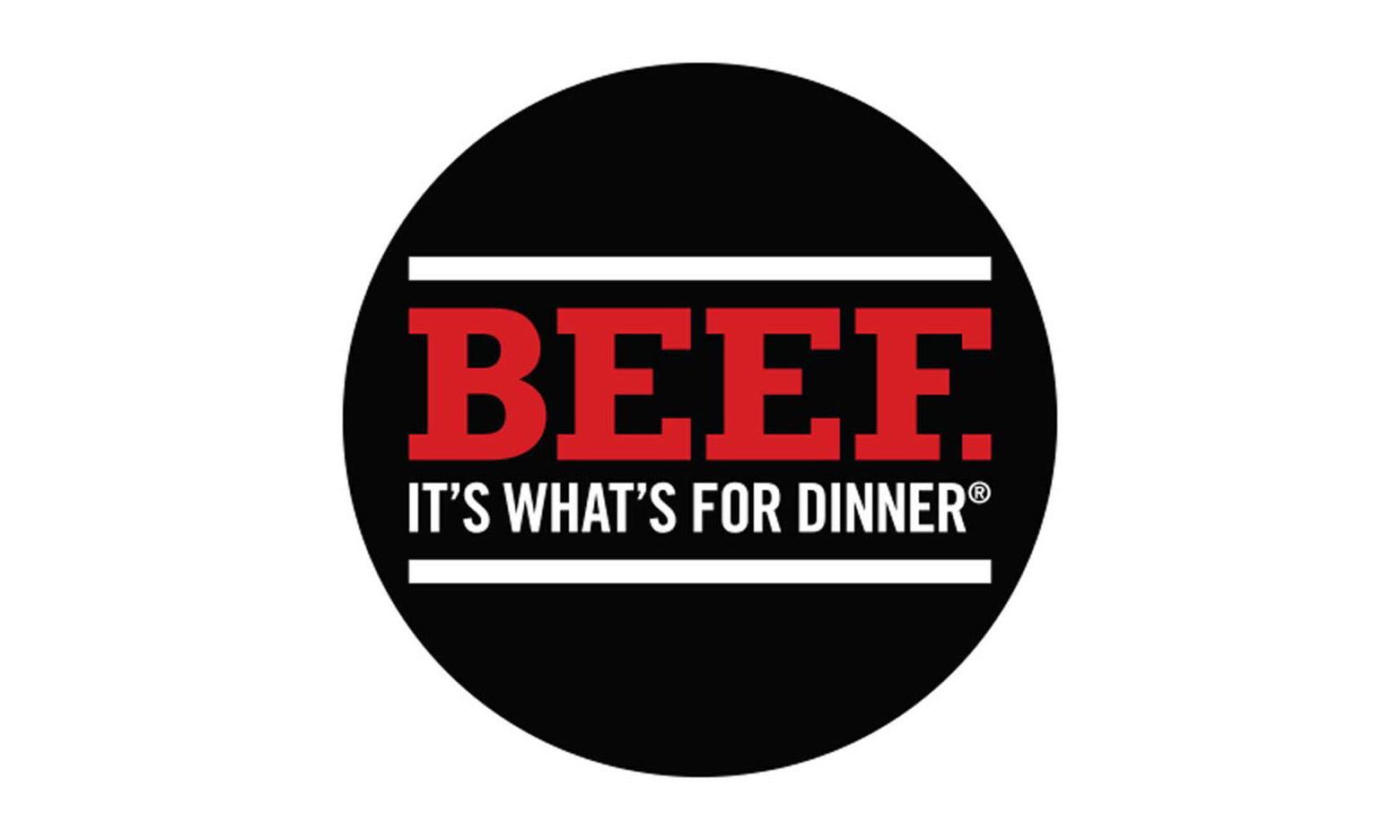 Beef. It's What's for Dinner. logo