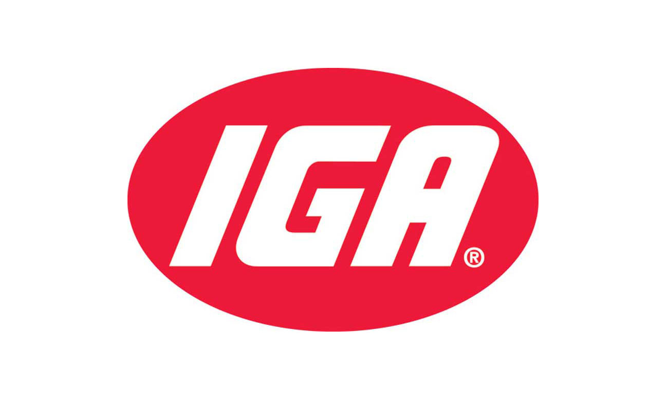 IGA logo five star