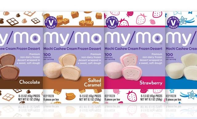 My/Mo Mochi Ice Cream Cashew Cream Lineup
