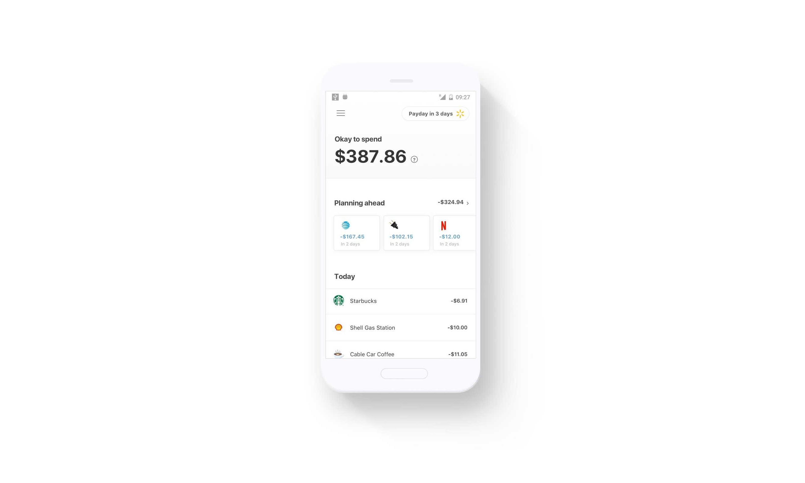Walmart's financial services app