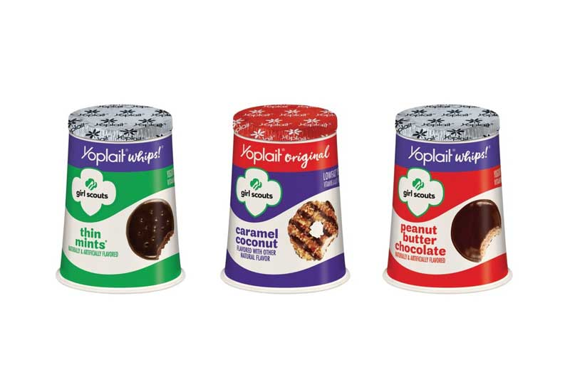 Yoplait Girl Scout Cookie flavors