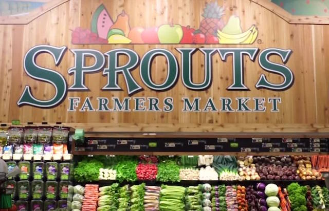 Sprouts Farmers Market produce department