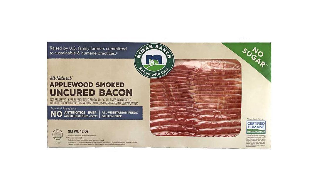 Niman Ranch no-sugar bacon