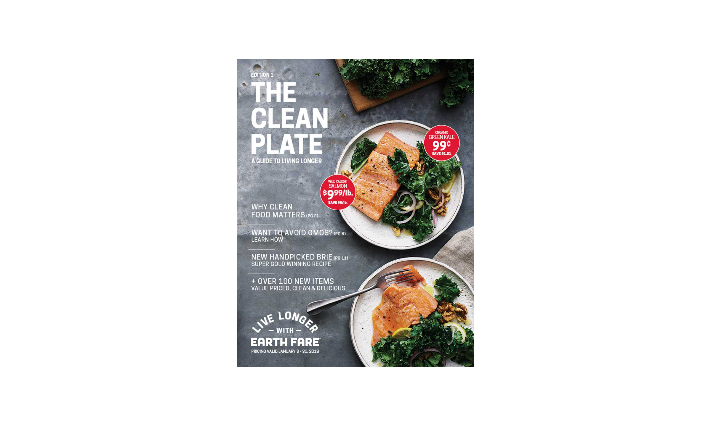 The Clean Plate magazine cover
