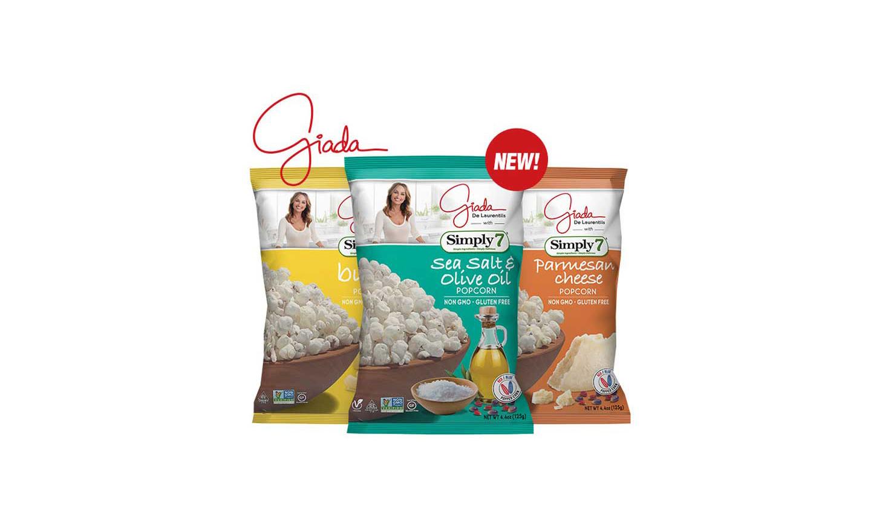 Simply7 Snacks popcorn