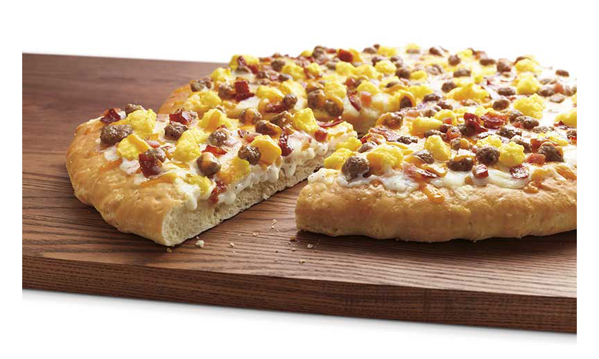 7-Eleven's breakfast pizza