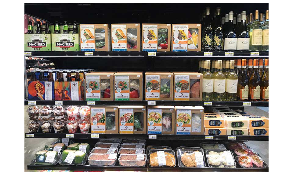 Kessler's Chef Kit meal kits on display