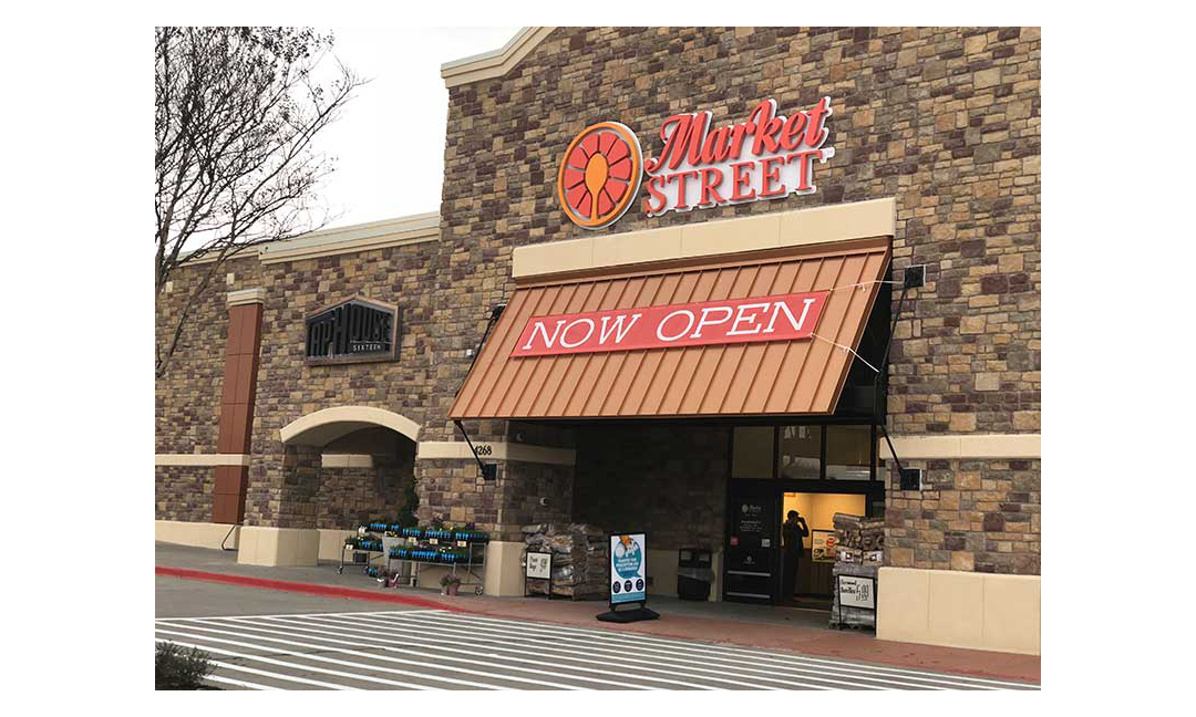 The Market Street in Frisco, Texas, that opened Jan. 26.
