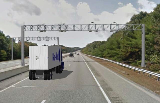 Rhode Island toll gantries