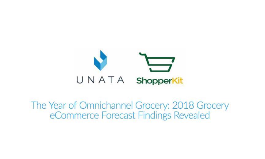 Unata and ShopperKit logos