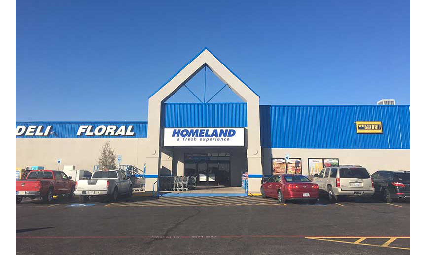 HAC recently converted a Cash Saver to a Homeland in Justin, Texas.