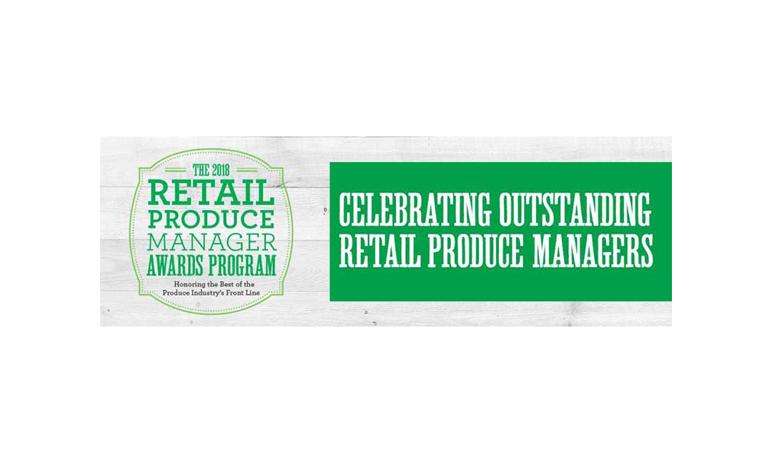 2018 Produce Manager Awards banner