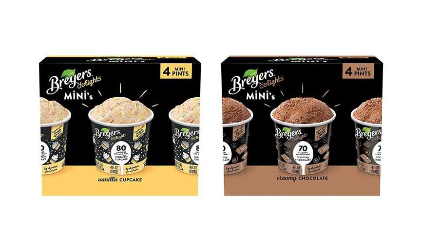 Breyers Delights ice cream Minis