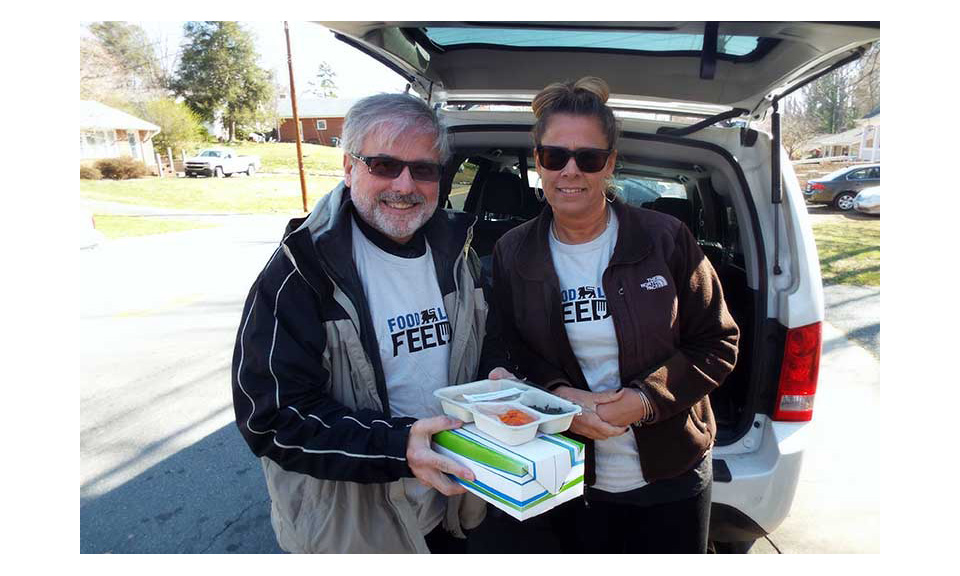 Food Lion Feeds volunteers