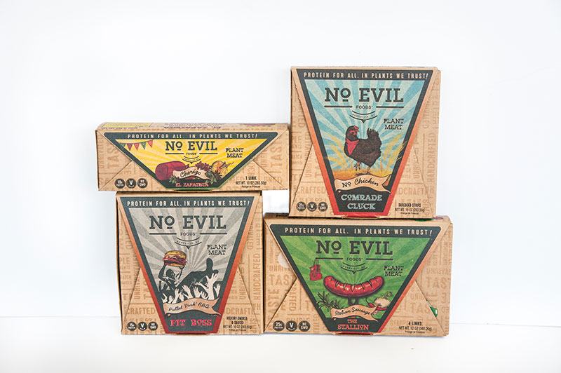 No Evil Foods core products