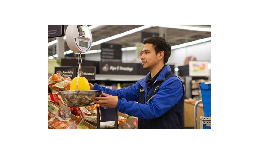 A Walmart shopper