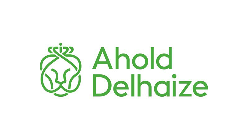 Ahold Delhaize logo, processing