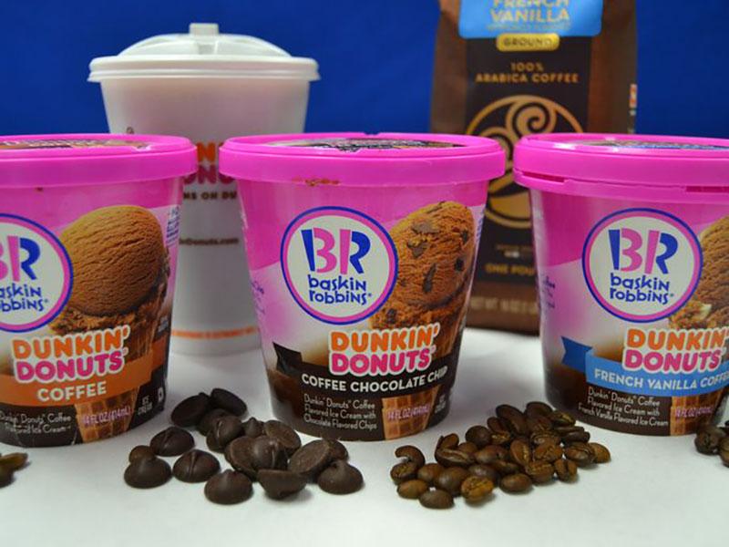 Baskin-Robbins Dunkin' ice cream