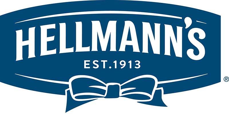 Hellmann's logo, relief